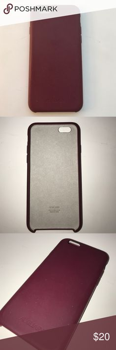 iPhone 6/6s Case Auxiliary (from Aritzia) used, Maroon auxiliary Accessories Phone Cases