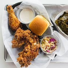 Get fried chicken at Wilma Jean in Brooklyn.