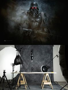 The professional photographerFelix Hernandezis having funphotographing his Star Wars toys into incredible miniature sets, managing to create haunting atmo