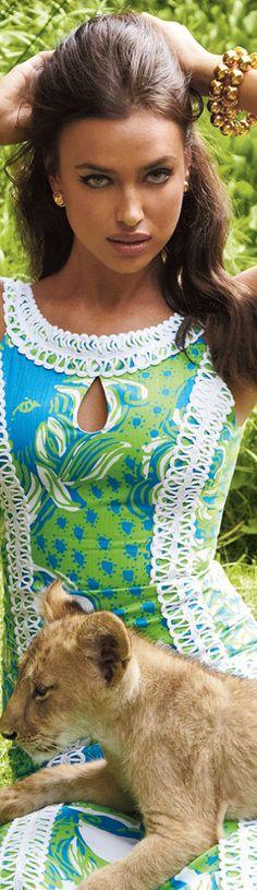 Irina Shayk for Lilly Pulitzer maxi dress. IN LOVE WITH THIS DRESS!!!!!!!!!!!!!!!! LOVE IT!!!!!!!!!!!! LOVE IT!!!!!!!!!!!!!! LOVE IT!!!!!!!!!!!!!!