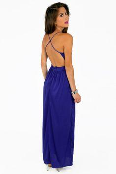 Tobi X Back Maxi Dress