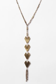 Urban Outfitters - Y-Neck Geometric Necklace