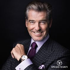 Did you know that the world-renowned actor Pierce Brosnan is the official ambassador of Speake-Marin? www.speake-marin.com