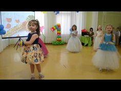 Зажигательный Флешмоб на выпускном в детском саду - YouTube Bible Songs, Kindergarten, Flower Girl Dresses, Activities, Wedding Dresses, Kids, Crafts, Youtube, Amor