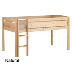 Whistler Junior Loft Bed by Canwood Furniture at BabyEarth.com, $249.95?osCsid=1cls0avbstliqn7coultp4f3g5
