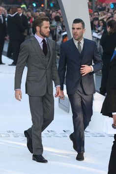 Chris Pine and Zachary Quinto - 'Star Trek Into Darkness' Premieres in London 4