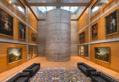 Whispers of Louis Kahn's Vision at the Yale Center for British Art - NYTimes.com