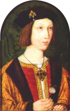 Arthur prince of Wales was born today in 1486 http://www.tudor-history.com/the-birth-of-arthur-prince-of-wales/. This portrait is from around 1500 and is believed to be the only contemporary portrait of Arthur, it is currently on display at Hever Castle