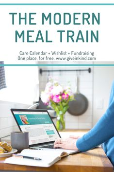 Give InKind is the modern meal train. Set up Meals + Help, share wishlist and add fundraising. Let friends and family hep from anywhere. 100% free.