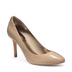 Coach Pumps - NALA PUMP  I want these in Black & Cappucino