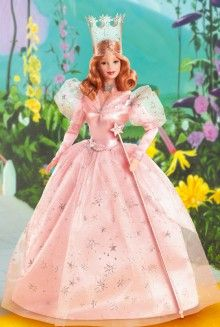 The Wizard of Oz™ Glinda the Good Witch Barbie® Doll Pop Culture Dolls - View Collectible Barbie Dolls From Pop Culture Collections   Barbie Collector