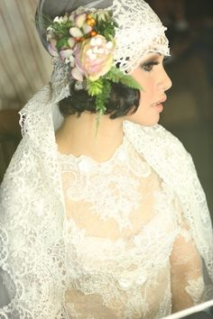 Mel Ahyar, The Designer Behind Andien's Dress - the bride dept wedding pernikahan andien ippe pine forest bandung