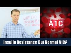 In this video, Dr. Berg discusses insulin resistance and why someone might have this but a normal A1C level. https://www.drberg.com/blog/body-conditions/insulin-resistance-but-normal-a1c