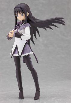Amazon.com: Good Smile Puella Magi Madoka Magica: Homura Akemi Figma Action Figure: Toys & Games