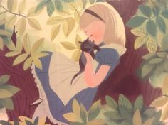 Alice in Wonderland Concept Art - Mary Blair