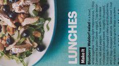 Blueberry Waldorf Salad from SELF magazine