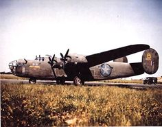 B-24D Liberator bomber 'Jerks Natural' of 93rd Bomber Group, US 328th Bomber Squadron at an airfield at Gambut Airfield (now Kambut), Libya, Feb 1943