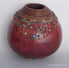 Gourd Art by Susan Ashley
