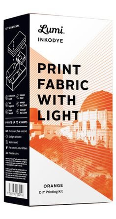 """Sun Print"" fabric paints! Paint onto the fabric or wood, expose to sunlight, wash."