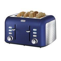 Image Result For Kitchenaid Cobalt Blue Toaster 6 Stainless Steel Toaster Toaster Blue Toaster