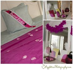 Bridal Barbie's room