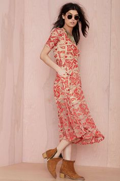 Line and Dot Other World Embroidered Dress | Shop What's New at Nasty Gal