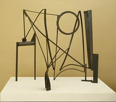 anthony caro table piece ccclxxviiii  http://www.play-scapes.com/play-art/playable-sculpture/playscape-inspiration-from-anthony-caro/