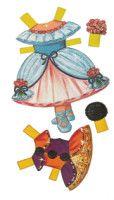 Gallery.ru / Фото #12 - Бумажные куклы - Tawa