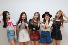 Red Velvet    I had to admit it was really hard to tell them apart before their ICC era, but now I wonder how I ever mixed them up in the first place