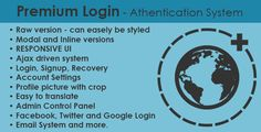 Premium Login - Authentication System - 15 Most Popular PHP Code Scripts that You Should Have