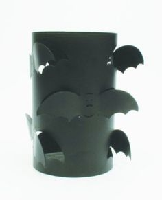 Amazon.com: Tag Halloween Metal Flying Bat Hurricane Candle Holder, 9-Inches Tall x 5.25-Inches Diameter: Home & Kitchen