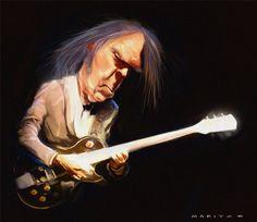[ Neil Young ]  - artist: Andries Maritz - website: http://andriesmaritz.blogspot.com