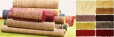 Carpet is constructed in various ways, and using variety of fibers. Understanding the strengths and difference of each will easily help buyer for selection of lifestyle and budget.