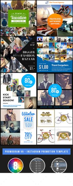 Promogram Vol07 - Instagram Promotion Template Coupon deals - coupon flyer template