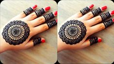 #hennaart #hennafun Latest Mandala Flower Mehndi Design for Back hand | Mandala back hand mehndi design 2020 | Henna art Mehndi Tattoo, Mehndi Art, Mehendi, Mehandi Designs Easy, Mehndi Designs, Design Mandala, Mehndi Patterns, Mehndi Brides, Beauty Studio