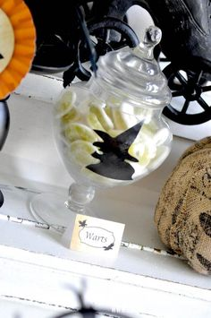 Witches Ball Halloween Party via Kara's Party Ideas Ideas -www.KarasPartyIdeas.com-shop-49