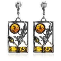 Naava Men's 9 ct Yellow Gold 20pt Diamond Earring JWI8qDX