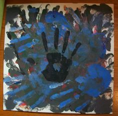 BA or Black Hand by ArtJunkies on Etsy, $5.00
