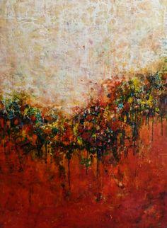 "Saatchi Online Artist Ezshwan Winding; Painting, ""Unstoppable Movement"" #art"