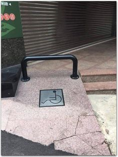 A ramp for the handicap. Cool Pictures, Beautiful Pictures, Funny Pictures, Random Pictures, Weird, Design, Fanny Pics, Pretty Pictures, Funny Pics