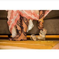 Traditional Kenyan and Nigerian Bridal Henna Tattoos