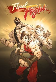 Final Fight by Jeff Agala__Guy, Cody Travers, Mike Hagger Capcom Street Fighter, Street Fighter Alpha, Cartoon Video Games, Video Game Characters, Final Fight, Urban Rivals, Gamer 4 Life, Beat Em Up, Geek Art
