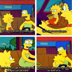 hands down the best TV mom scene ever, Marge Simpson, mother of Bart, Lisa and Maggie.: The Simpsons Simpsons Funny, The Simpsons, Simpsons Quotes, Tv Moms, Parenting Goals, Parenting Done Right, Parenting Classes, Parenting Styles, Fanart
