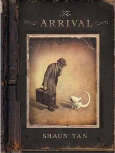 The Arrival by Shaun Tan. A wordless novel about a man who leaves his home country and must build a new life for himself and his family. By well-known Australian illustrator Shaun Tan. Shaun Tan, Wordless Picture Books, Wordless Book, Art Spiegelman, Visual Literacy, Comic Manga, Bd Comics, Lectures, Illustrations