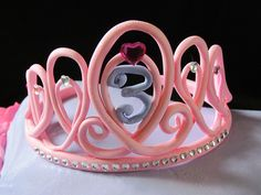 Princess Pillow Cake with Tiara (close up of tiara) by HobbyMommy, via Flickr