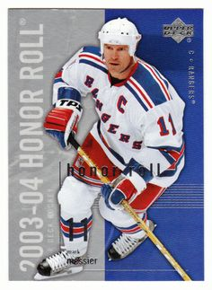 In Mint Condition Hockey Cards, Baseball Cards, Mark Messier, Honor Roll, Upper Deck, Nhl, Rolls, Sports, Mint