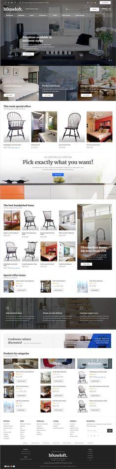 Houseloft is a wonderful responsive #Magento 2 theme for stunning #interior design, #furniture shop or #decor store eCommerce websites download now➩  https://themeforest.net/item/houseloft-responsive-magento-2-theme/19305557?ref=Datasata