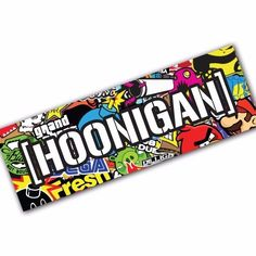 HOONIGAN SB2 Sticker Bomb Decal Car Macbook Laptop Funny Ken Block JDM Banner #UnbrandedGeneric
