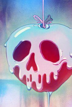 New tattoo disney snow white poison apples 49 Ideas Snow White Poison Apple, Snow White Apple, Snow White Art, Snow White Disney, Disney Love, Disney Art, Disney Pixar, Disney Tattoos, Disney Halloween
