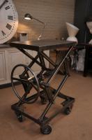 Industrial Rising Table metal